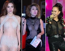 """Những sao Việt từng gặp sự cố thời trang """"thê thảm"""" với ánh đèn flash"""