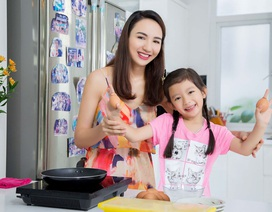 Hoa hậu du lịch Ngọc Diễm chia sẻ cách chăm con thật nhàn
