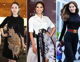 Linh Nga, Phạm Hương và Hồ Ngọc Hà ghi dấu ấn vào top sao mặc đẹp