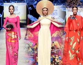 Trương Thị May, Lan Khuê đẹp lộng lẫy với áo dài truyền thống