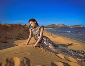 Kỳ Duyên đẹp hút hồn trên đồi cát