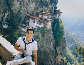 MC Nguyên Khang khoe ảnh thăm đất nước hạnh phúc nhất thế giới