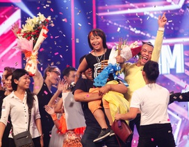 Khoảnh khắc đẹp đêm chung kết Tìm kiếm tài năng Việt Nam
