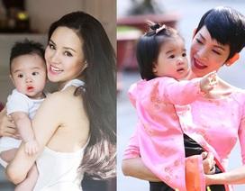 """Những sao Việt nữ """"giấu chồng"""" dù có con chung"""