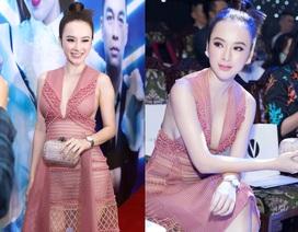 Angela Phương Trinh bất ngờ diện váy xuyên thấu táo bạo