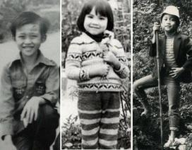 Sao Việt nào có ảnh tuổi thơ ngộ nghĩnh nhất?