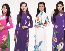 Top 30 chung khảo phía Nam dịu dàng với áo dài