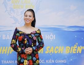 """Thu Minh trở thành đại sứ """"Hãy làm sạch biển"""""""