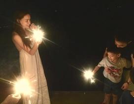 Hồ Ngọc Hà và Quốc Cường hội ngộ mừng sinh nhật Subeo