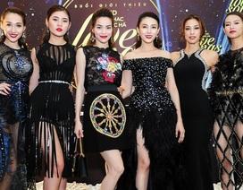 5 cô học trò xinh đẹp đến chúc mừng Hồ Ngọc Hà