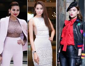Hồ Ngọc Hà, Phạm Hương dẫn đầu top sao mặc đẹp