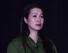 """Trịnh Kim Chi """"hóa teen"""" trong kịch bộ đội"""