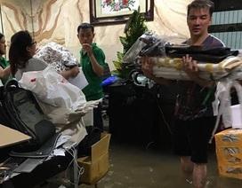 Biệt thự triệu đô của Mr Đàm chìm trong nước vì mưa
