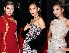 """Sao Việt """"tấp nập"""" trên thảm đỏ chung kết Next top model"""