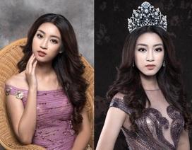 Hoa hậu Đỗ Mỹ Linh cuốn hút với hình ảnh yêu kiều