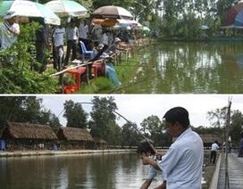 Sài Gòn cuối tuần: Thảnh thơi câu cá giữa Sài Gòn tấp nập
