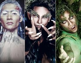 Chồng Khánh Thi tung ảnh kinh dị dịp Halloween