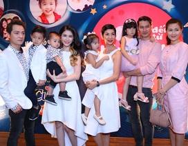 Gia đình Xuân Lan, Đăng Khôi và Huy Khánh lần đầu lộ diện trên sóng truyền hình