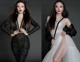 Angela Phương Trinh diện mốt thời trang không nội y, khoe chân dài