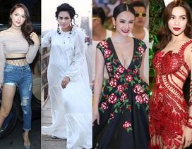 Hồ Ngọc Hà, Angela Phương Trinh mặc đẹp nhất tuần; Thanh Lam, Hương Giang Idol dẫn đầu sao xấu