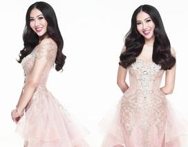 Hé lộ chiếc váy dạ hội của Diệu Ngọc tại Hoa hậu Thế giới 2016
