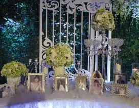 Hình ảnh không gian tiệc cưới lãng mạn của Trấn Thành - Hari Won