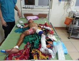 Hà Tĩnh: Nghịch vật lạ, 1 cháu bé bị thương nặng