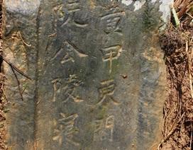 Hà Tĩnh: Mộ cổ hơn 500 năm được phát hiện tại cánh đồng làng