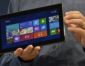 Microsoft thừa nhận máy tính bảng Surface ế ẩm