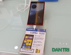 Thị trường ế ẩm, Lumia 1520 tiếp tục giảm sâu