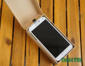 Đập hộp Galaxy S5 chính hãng đầu tiên tại Việt Nam