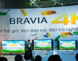 Sony ra mắt loạt TV BRAVIA 4K tại Việt Nam