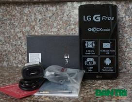 Đập hộp LG G Pro 2 chính hãng tại Việt Nam