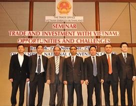 Thái Lan khích lệ doanh nghiệp đầu tư tại Việt Nam