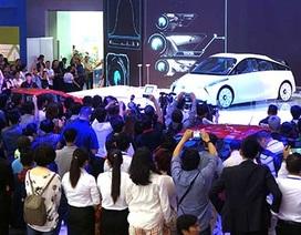 """Những """"gương mặt"""" thân quen của Toyota tại Vietnam Motorshow"""