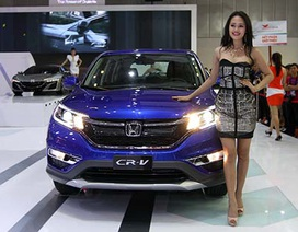 500 chiếc Honda CR-V cho 2 tuần có mặt tại Việt Nam