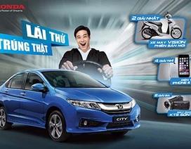Lịch lái thử ôtô Honda trên toàn quốc