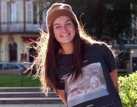 Nữ biker 22 tuổi khiến giới mày râu kính nể