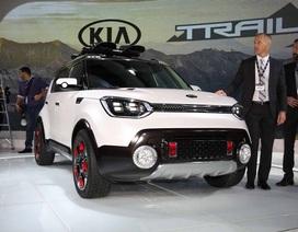 KIA khoe công nghệ với Trail'ster 4WD hybrid concept