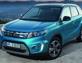 Suzuki Vitara 2015 khởi điểm từ 21.600 USD