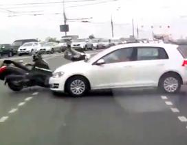 Những tai nạn khủng khiếp với xe hai bánh