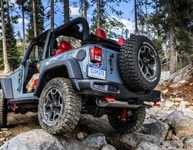 Jeep trang bị hộp số tự động tám cấp cho Wrangler