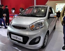 Hãng xe Trung Quốc ra mắt mẫu xe giống hệt KIA Morning