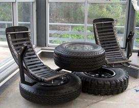 Bạn làm được gì với những chiếc lốp cũ?