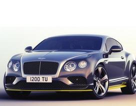 Bentley Continental GT Speed lấy cảm hứng từ… máy bay