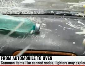 Nắng nóng trên 40 độ C: Không nên để những vật dụng gì trong ôtô?