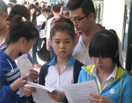 """""""Điểm sàn"""" đại học 2015: Duy nhất mức 15 điểm cho các tổ hợp"""