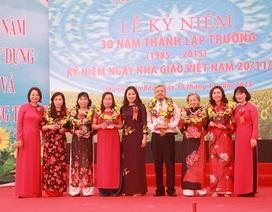 Trường tiểu học Đặng Trần Côn A tưng bừng kỷ niệm 30 năm thành lập