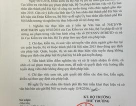 Bộ Nội vụ: Hà Nội phải xử lý sai phạm tuyển dụng viên chức trước 15/4