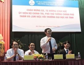 Phó Thủ tướng Vương Đình Huệ:Trường đại học cần xem người học là trung tâm